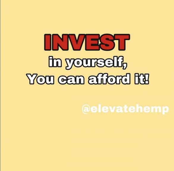 Invest in yourself - You can afford it - Influencer Marketing Agency - Americanoize