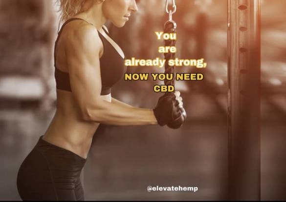 You are already strong and now you need CBD - Influencer Marketing Agency - Americanoize