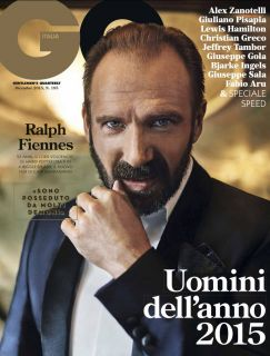 Ralph Fiennes Cover GQ Italy