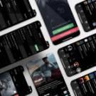 Rehegoo Radio Mobile App Design
