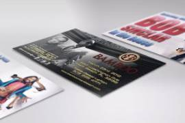 Bamboo Night Entertainment: Graphic Design, Photography, Advertising, Interior Photo Decoration