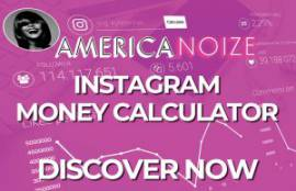 Instagram money calculator