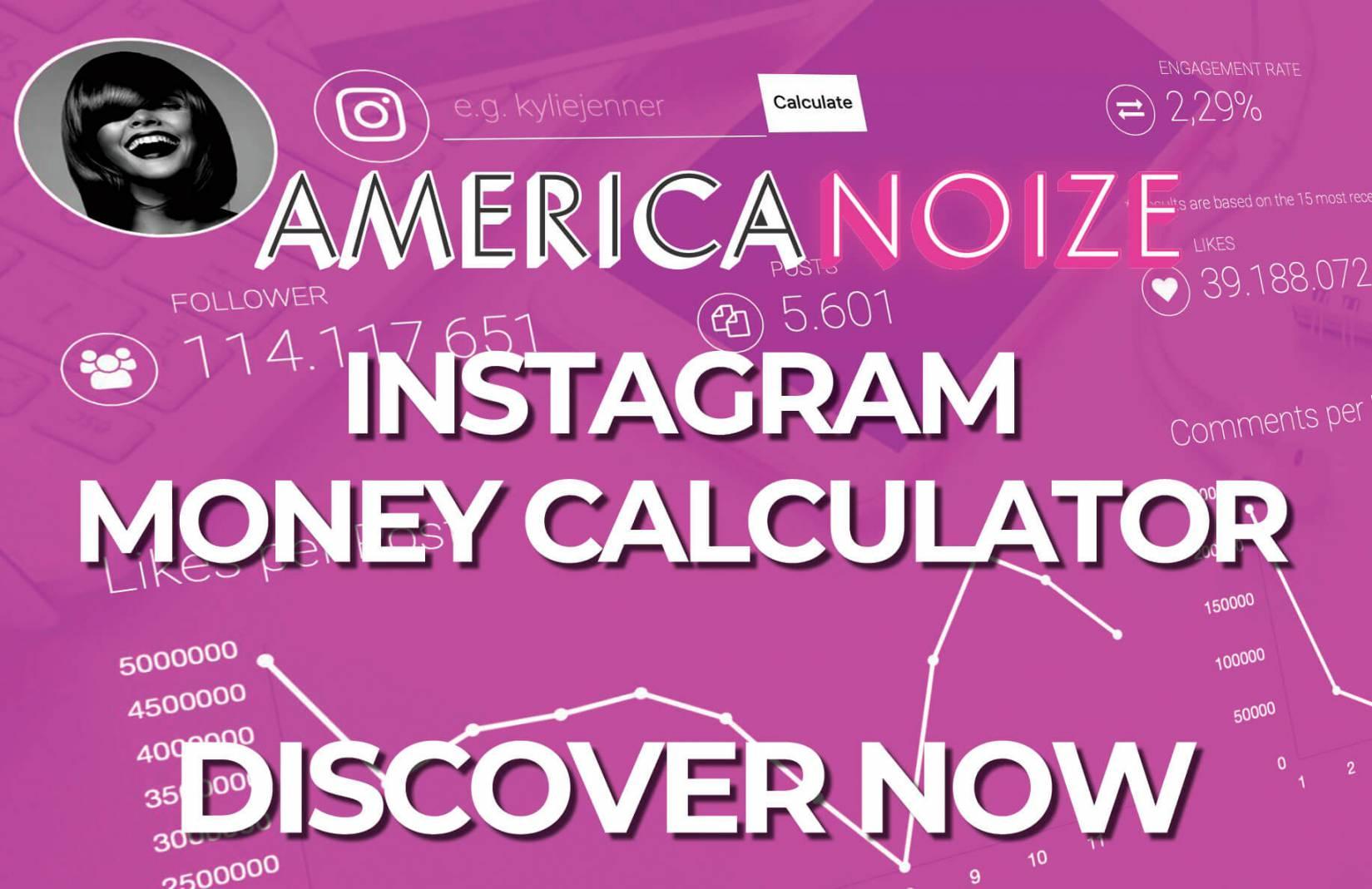 Instagram money calculator