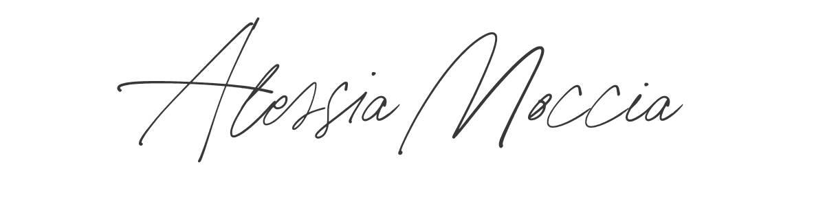 Alessia Moccia Signature - Influencer marketing agency - Americanoize