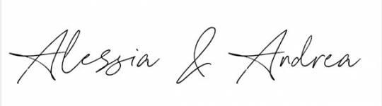 Andrea Angioli & Alessia Moccia signature - Americanoize - Influencer Marketing Agency